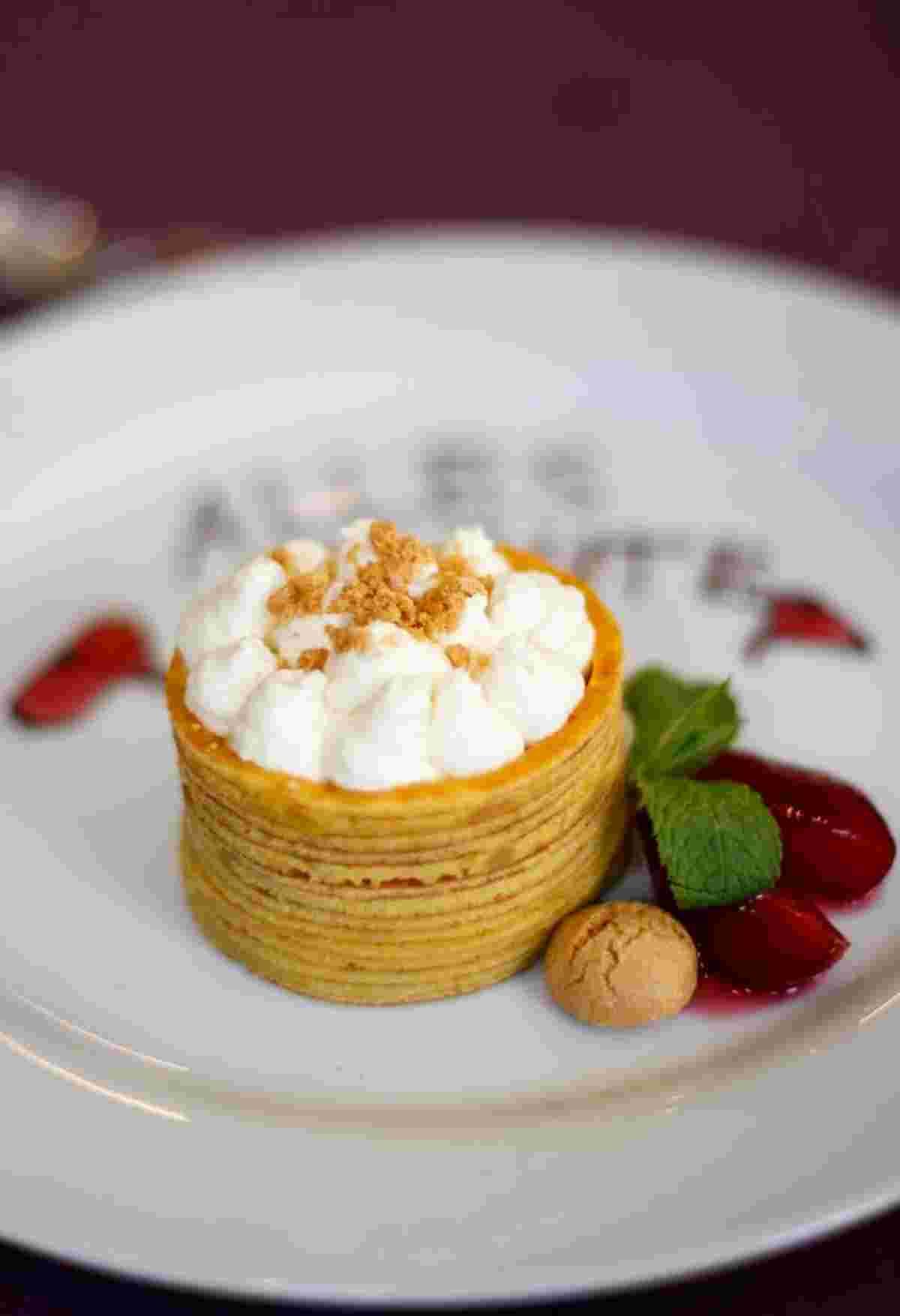 Liebe zum Kochen, Essen muss man genießen, Dessert zur Hochzeit