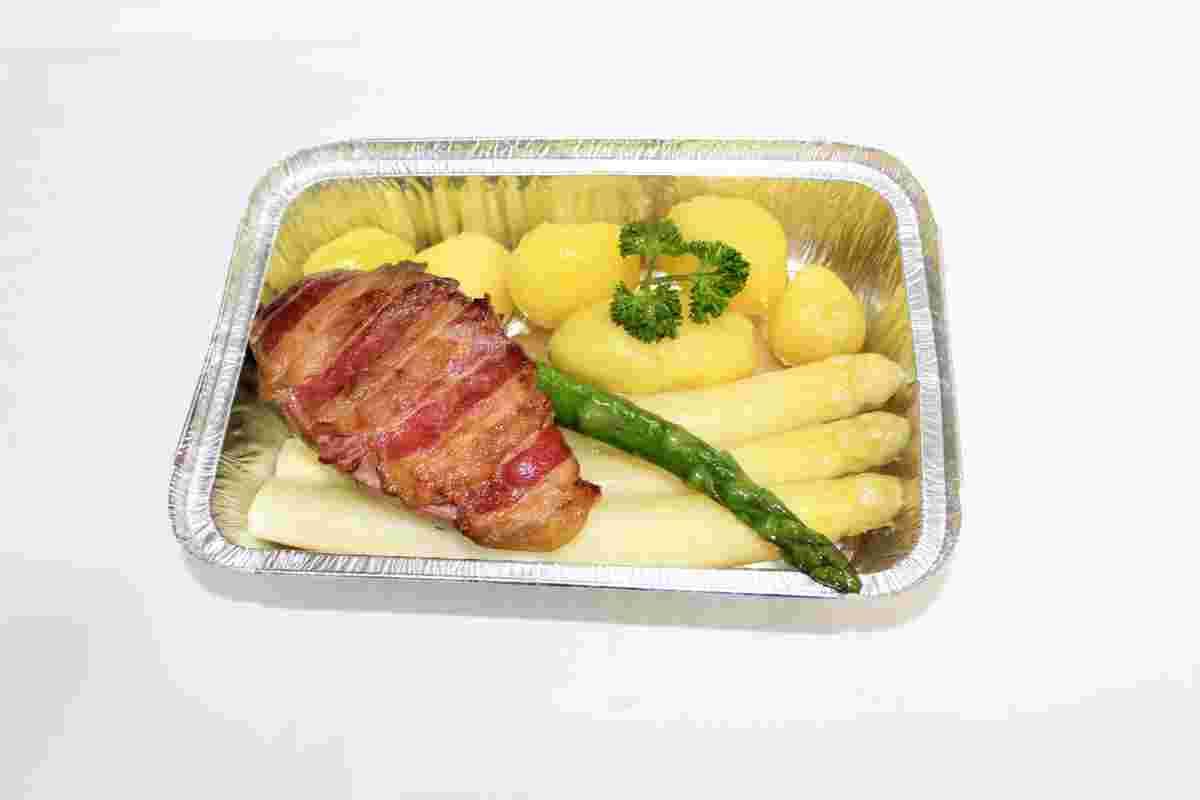 Fasan mit Spargel, Essen to go, Außer-Haus-Service, Engelskirchen und Umgebung